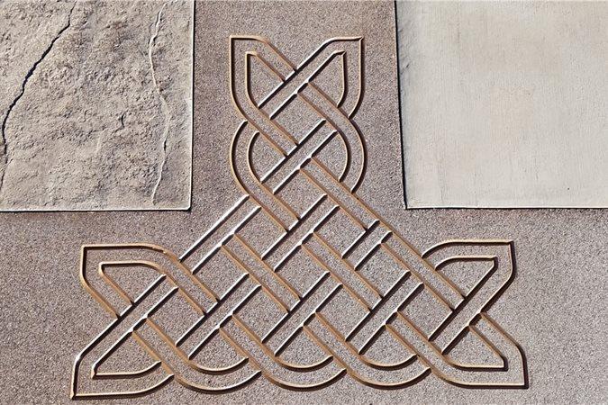 Urethane Stencil, Concrete Stencil Site Solomon Colors