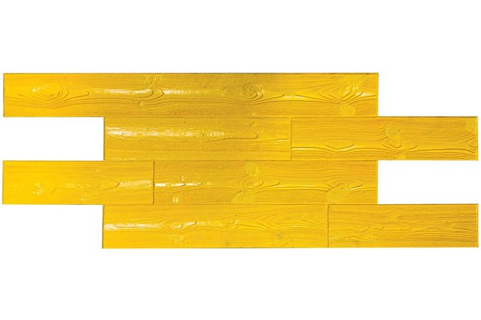 Weathered Wood Plank, Stamp Tool Site Brickform Rialto, CA
