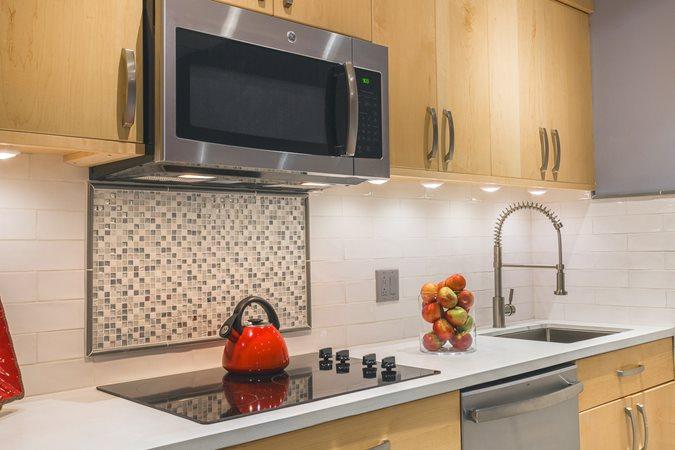 White Countertop, Concrete Kitchen Site Concrete Countertop Solutions South Abington Township, PA