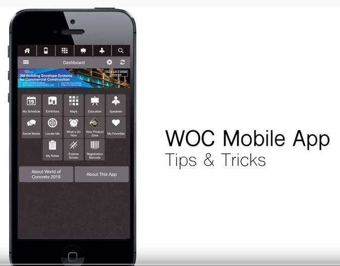 Woc App Site World of Concrete
