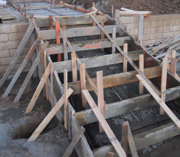 Wood Step Forms Site ConcreteNetwork.com
