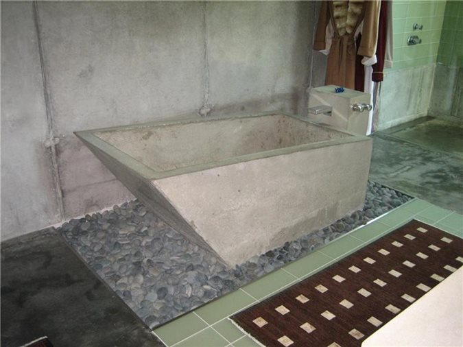 Precast Concrete Tubs : Concrete bathtub mold photo gallery tubs and showers