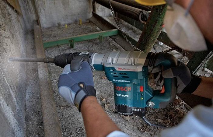 Chipping Hammer, Demolition  Site Bosch
