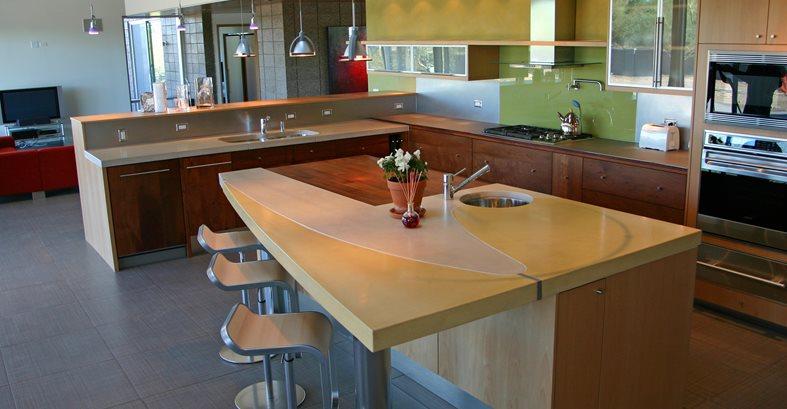 Architectural Details CRAWFORD + SZCZECH CONCRETE INTERIORS Phoenix, AZ