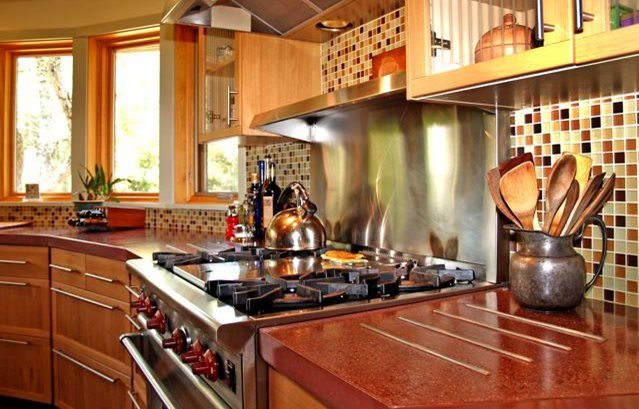 Concrete Countertops Variety Of Methods Leads To Creative
