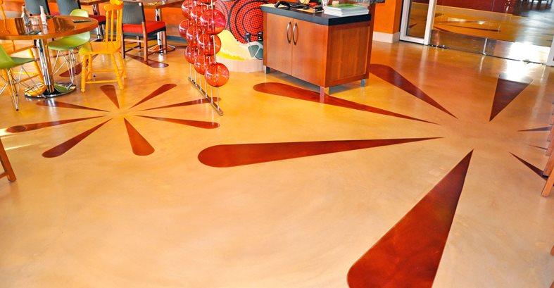 Metallic Coating, Metallic Red Architectural Details General Coatings Corp. San Diego, CA