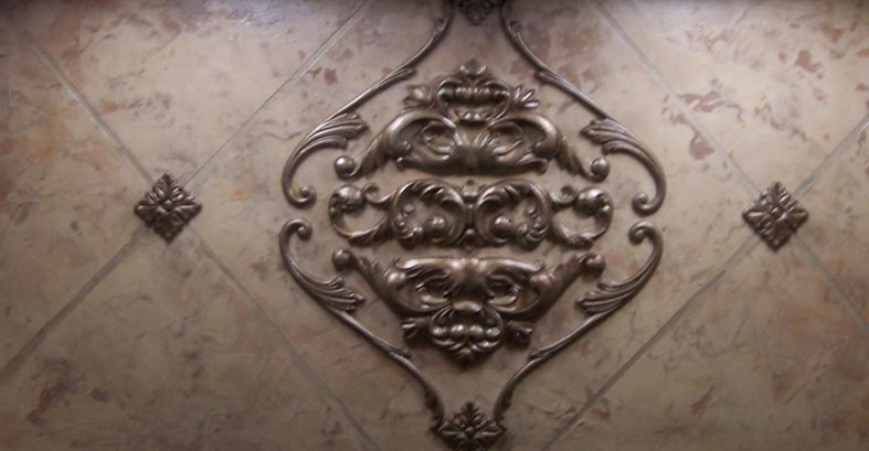 Ornate, Inlay Architectural Details Beauty-Faux Murrieta, CA