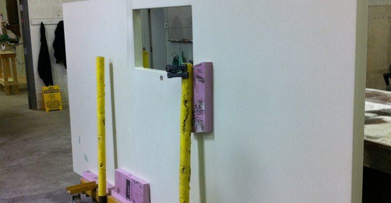 White Countertop, Shop Architectural Details Hard Topix Jenison, MI