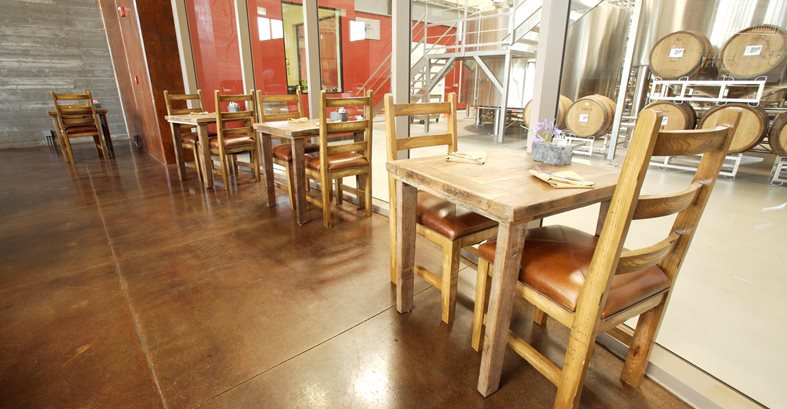 Concrete Floors For Breweries And Wineries The Concrete