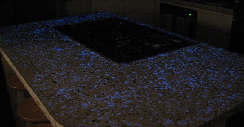 Glowing Concrete Aggregates Commercial Floors Stamped Artistry Pasadena, TX