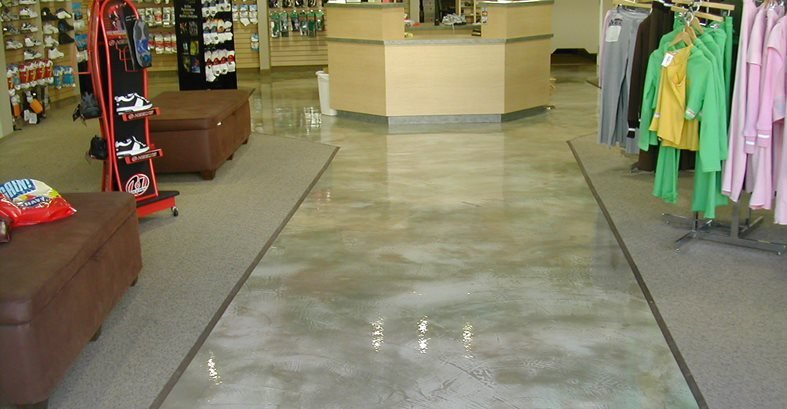 concrete floor covering garage floor covering
