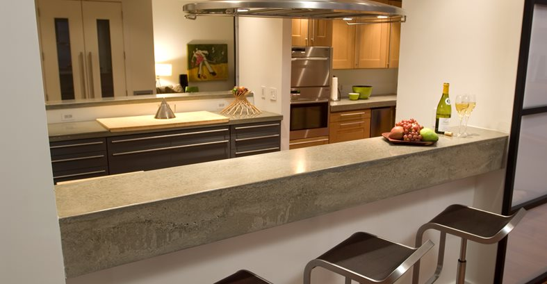 Concrete Countertops Reaching Quiet Charlotte, NC
