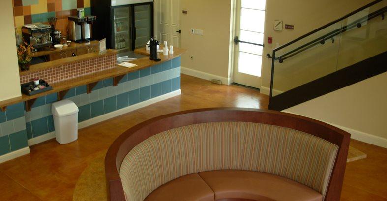 Orange, Stain Concrete Floors Innovative Concrete Surfaces, Inc Bonita Springs, FL