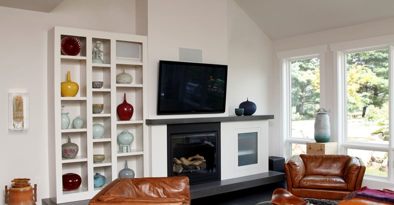 Modern Fireplace Design Fireplace Surrounds SunWorks Decorative Concrete LLC Annville, PA