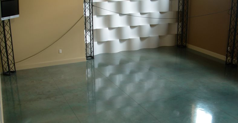 Blue, Acid Stain Site Innovative Concrete Surfaces, Inc Bonita Springs, FL