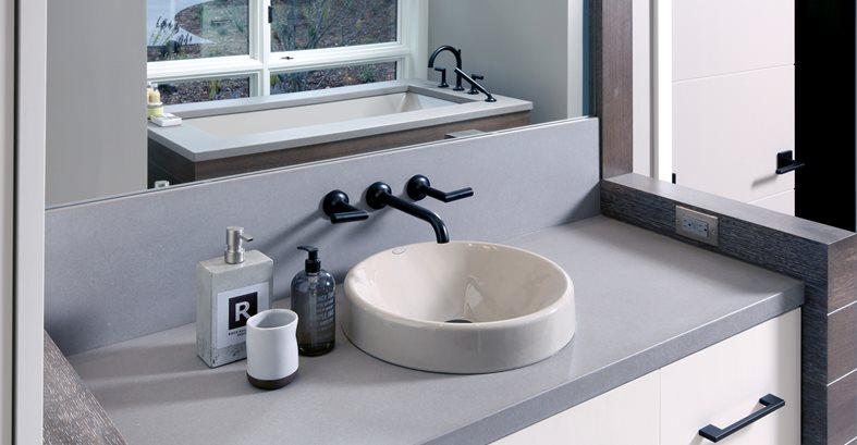 Concrete Countertops And Vanities Site Hard Topix Jenison, MI