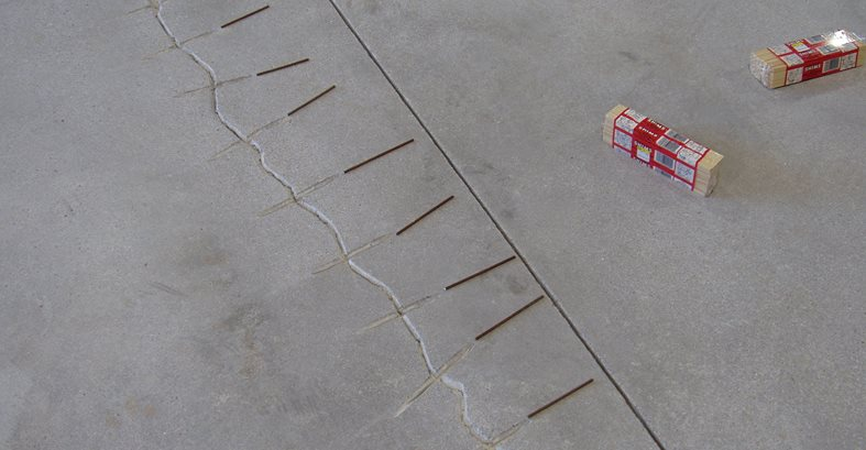 Concrete Cracks, Crack Repair Site Decorative Concrete Institute Temple, GA