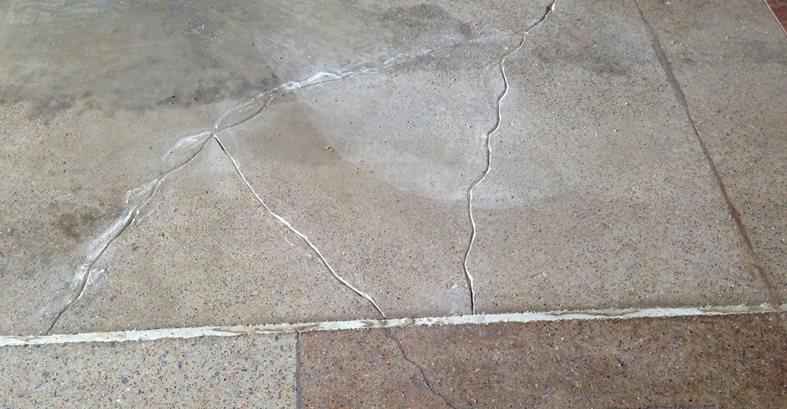 Cracked Concrete Site Decorative Concrete Institute Temple, GA