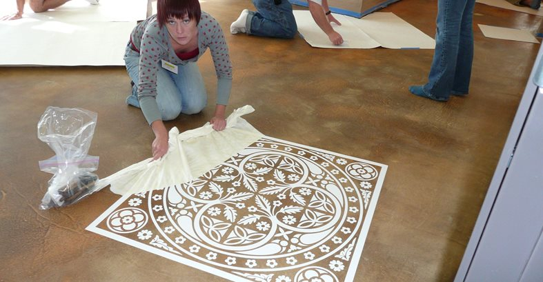 How To Create Concrete Floor Graphics The Concrete Network