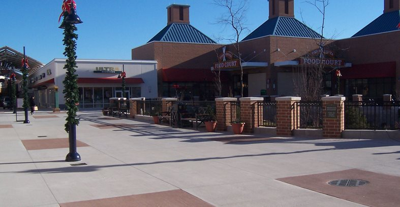 Exterior, Mall Site Architectural Concrete Design Levittown, PA