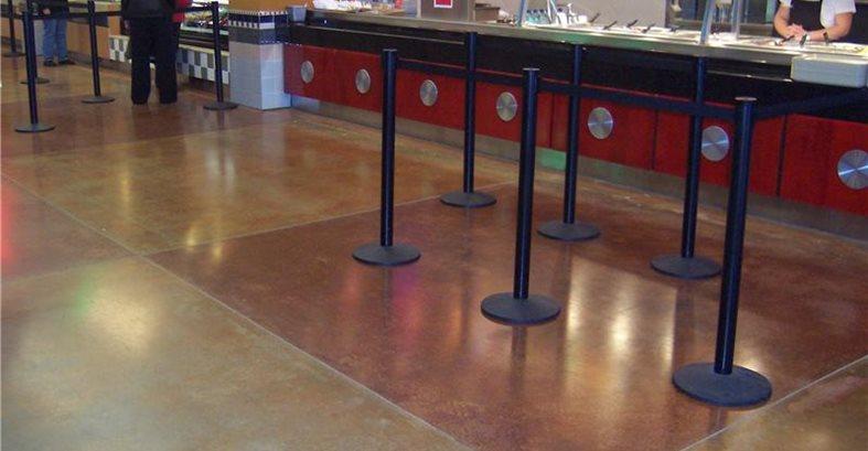 Food Court Site Architectural Concrete Design Levittown, PA