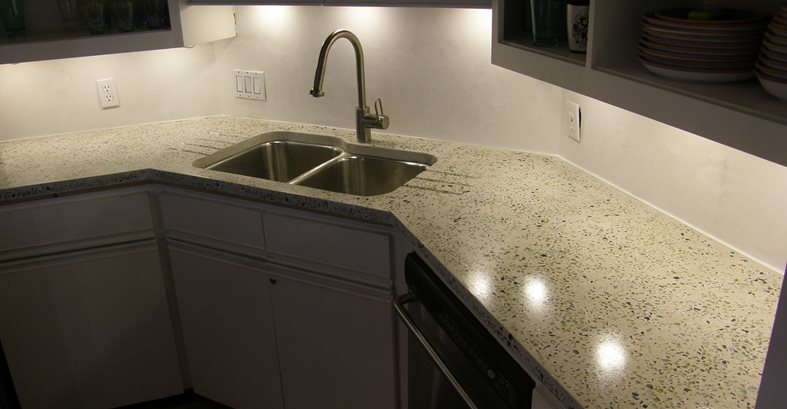 Glowing Counter Site Stamped Artistry Pasadena, TX