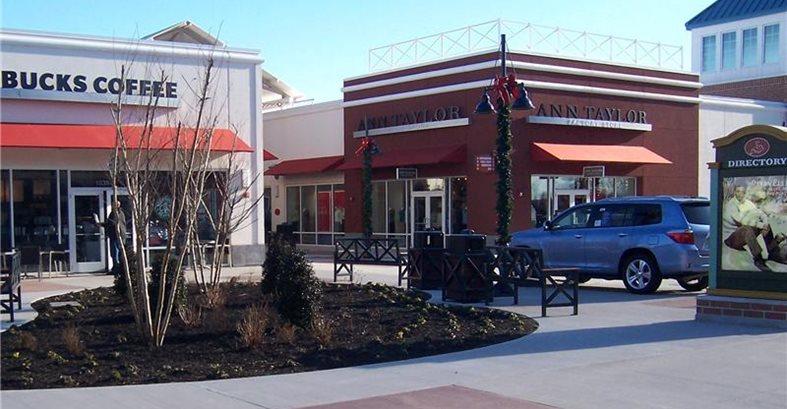 Mall Site Architectural Concrete Design Levittown, PA