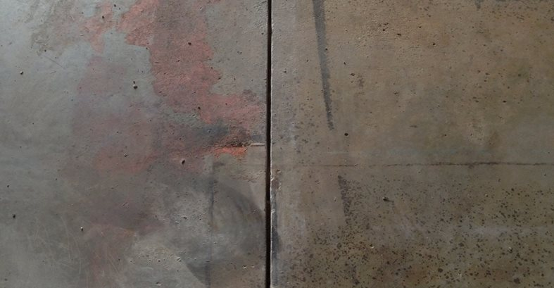 Polished concrete graphics 101 the concrete network for Buffing stained concrete floors