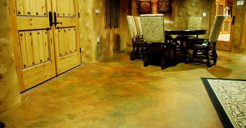 Wine Tasting Room Floor Site Westcoat San Diego, CA