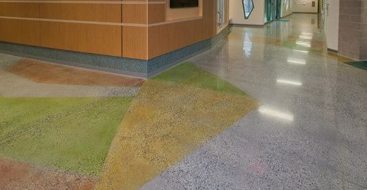 Color, Polished Concrete Floors K & J Concrete Polishing Inc Knoxville, TN