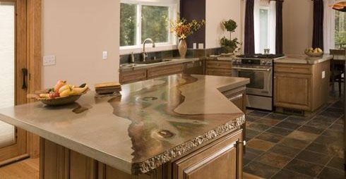 Concrete Countertops Absolute ConcreteWorks Port Townsend, WA