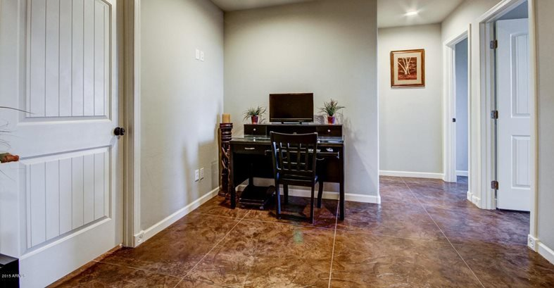 Stamped Concrete Foundation Indoors Site Flortek Llc Glendale Az