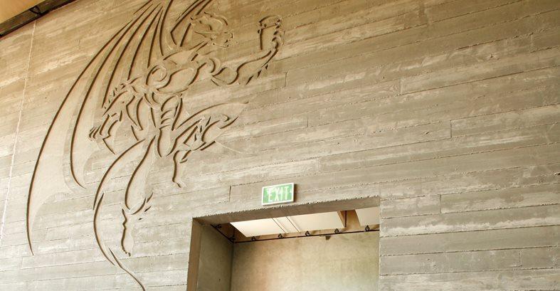 Concrete Wall Board : Board formed concrete the network