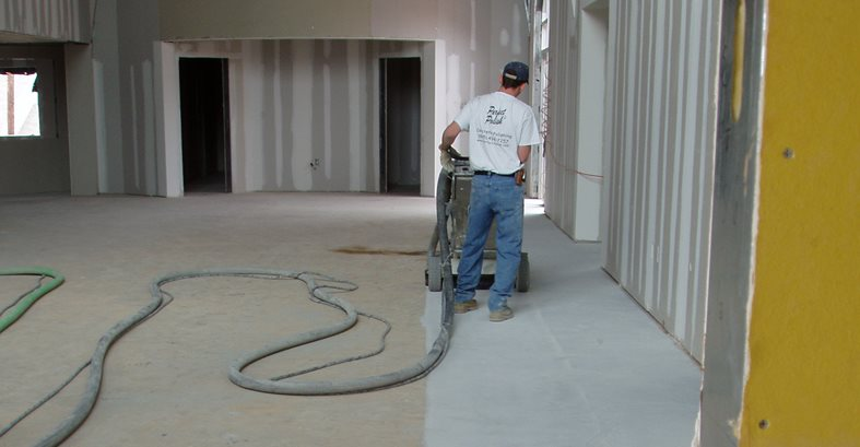 Diamond, Cutting Site Decorative Concrete Institute Temple, GA