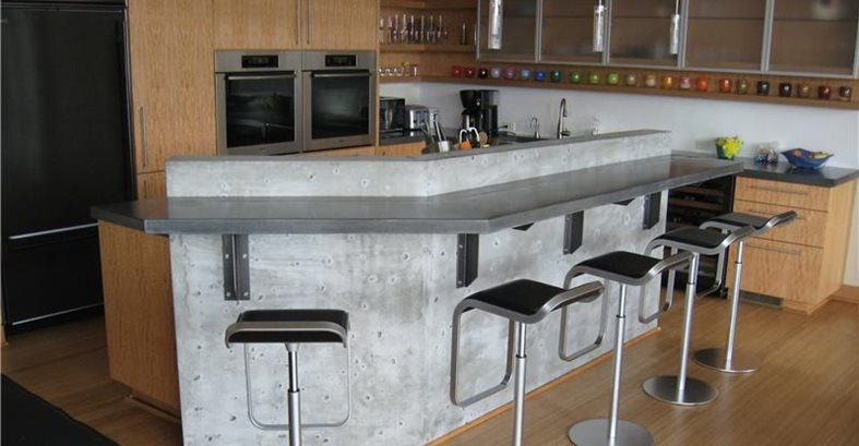 Bar Countertops - The Concrete Network
