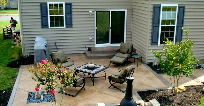 Porches And Patios Concrete Patios Tri-State Concrete Coatings, Inc. Middletown, MD