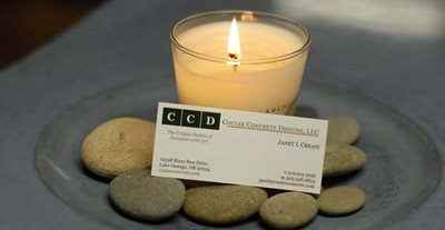 Business Card Site Coulee Concrete Lake Oswego, OR