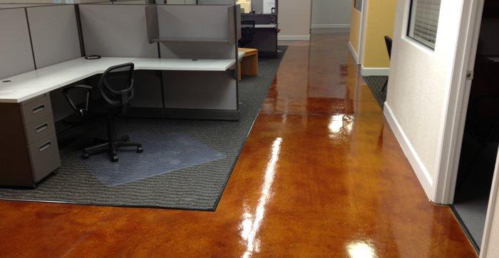 Acid Stain Concrete Floors Concrete Restoration by Dave Delaney Royal Palm Beach, FL