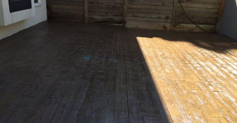 印花,染色,天井,木质混凝土天井所有Pro水泥,Inc Thornton, CO