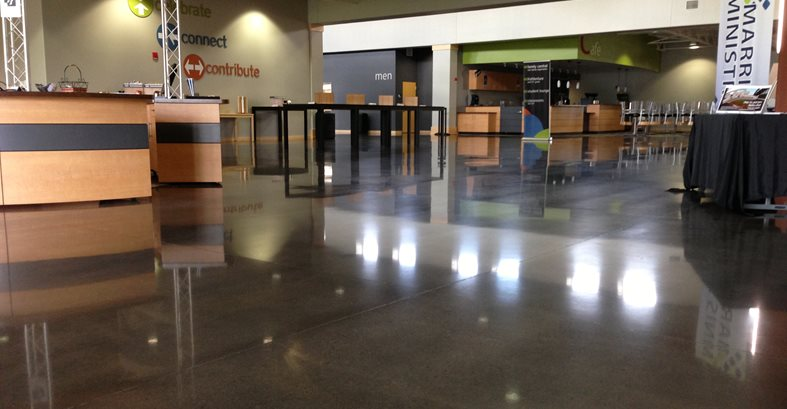 Polished Concrete Polished Concrete L&A Crystal Mequon, WI