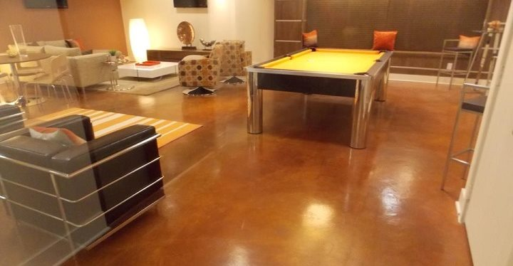 Lounge, Polished Floor Site Sun Surfaces of Orlando Ocoee, FL