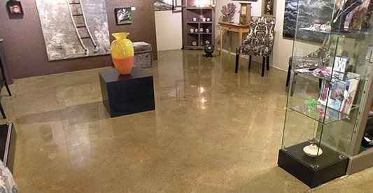 Art, Polished Concrete Floors Narrows Construction Gig Harbor, WA