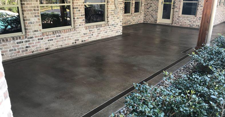 Exterior Concrete Site Artistic Concrete Floors LLC Madisonville, LA