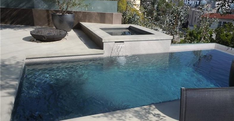 Concrete Pool Decks Ron Odell's Custom Concrete Woodland Hills, CA