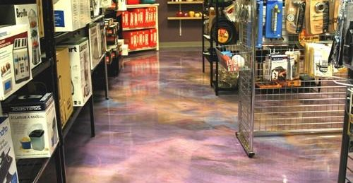 Floor Logos and More Custom Concrete Solutions, LLC West Hartford, CT