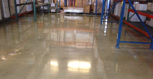 Warehouse, Polished Polished Concrete Los Angeles Concrete Polishing Torrance, CA