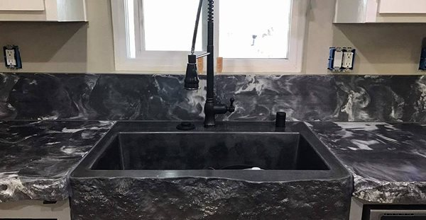 Sink, Black Site Colorwize Concrete Torrance, CA