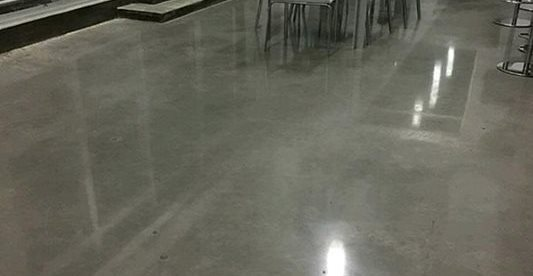 Dining Room, Polished Polished Concrete Concrete Ideas Tampa, FL