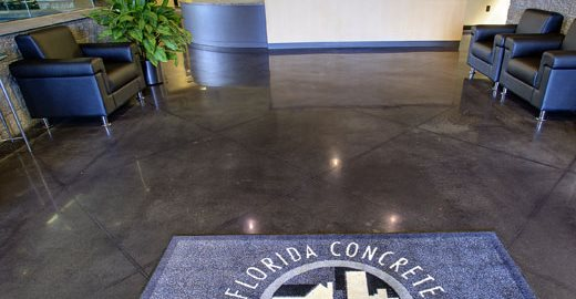 Concrete Association, Polished Site Edwards Concrete Company Winter Garden, FL