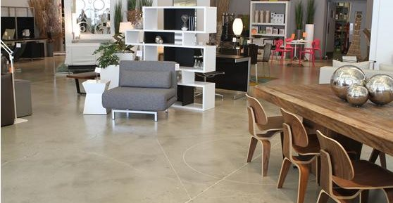 Retail Floor Options Designs Benefits Of Concrete Retail